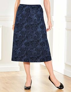 Jacquard Skirt 27 Inches