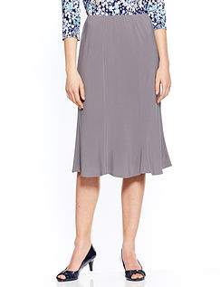 Jersey Panelled Skirt 25 Inches
