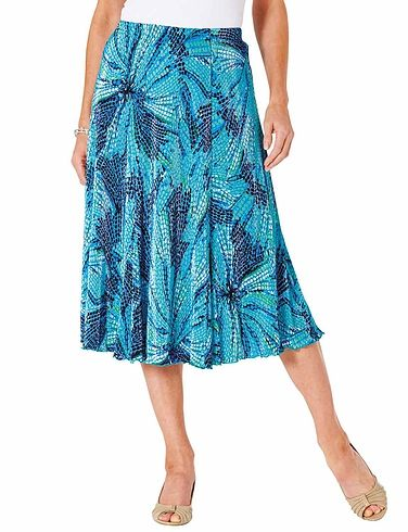 Plisse Skirt Length 25 Inches