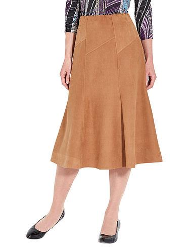 Suedette Skirt