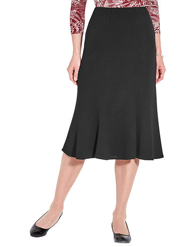Jersey Crepe Skirt