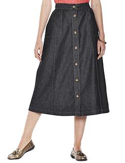 Ladies' Button Through Skirt