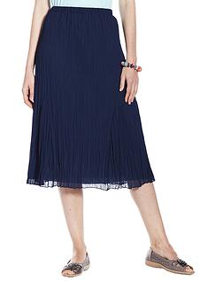 Crinkle Cut Skirt
