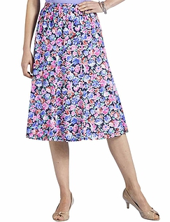 UK 20 Chums Ladies Womens Skirt Permanent Pleat Pink US 16