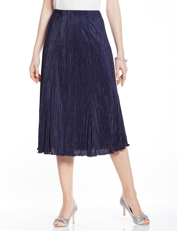 Plisse Skirt - Length 27 Inch