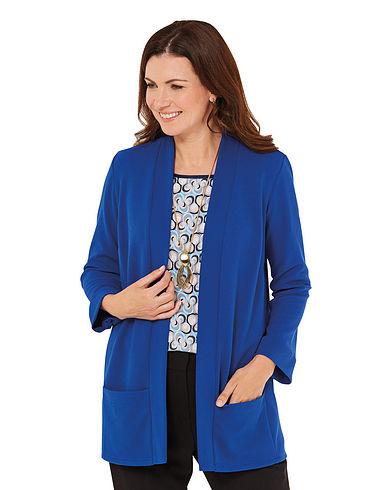 3/4 Sleeve Jersey Jacket