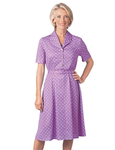Spot Dress Length 43 Inches