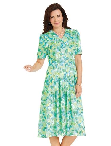 Drop Waist Dress Length 43 Inches