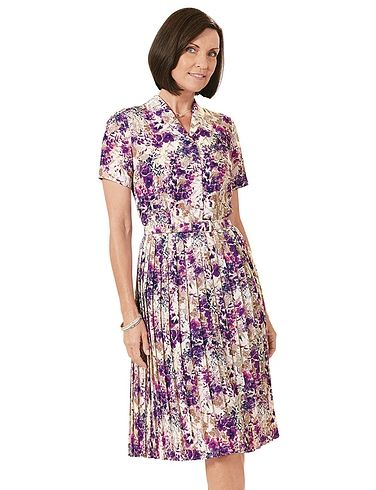 Knife Pleat Dress 43 Inches