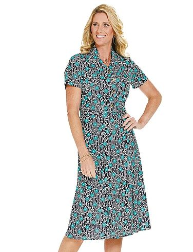 Short Sleeve Dress 43 Inches