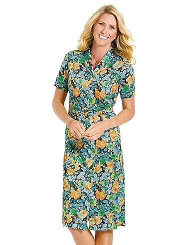 Button Through Dress 43 Inches