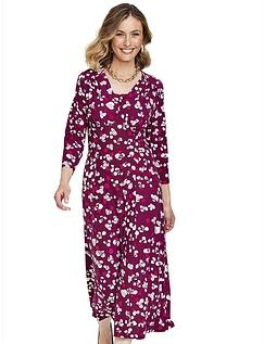 Knitted Three Quater Sleeve Tea Dress