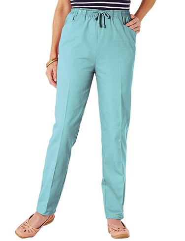 Ladies Cotton Trousers