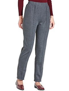 Pull-on Jersey Trouser