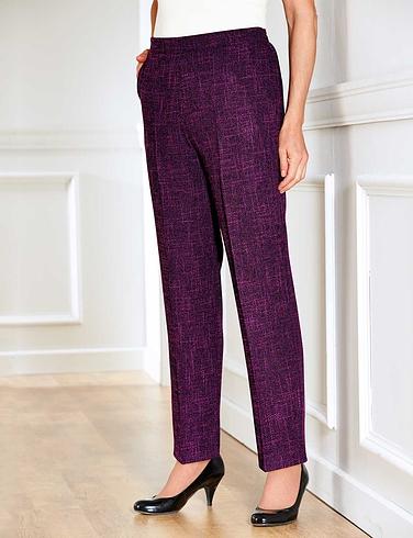 Tweed Effect Trouser