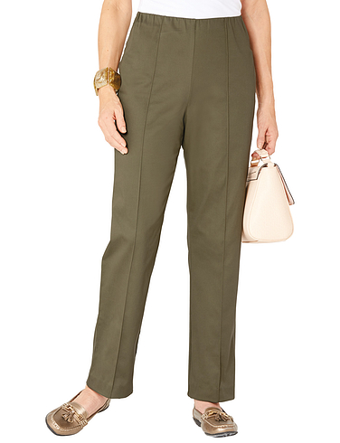 Cotton Sateen Trouser