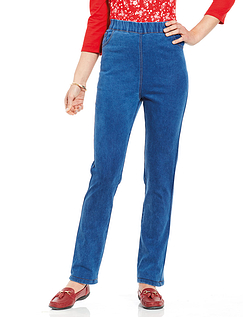 Ladies' Pull On Jeans
