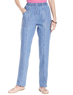 Elasticated Waist Pull On Jean