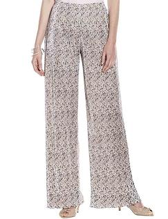 Plisse Print Trouser