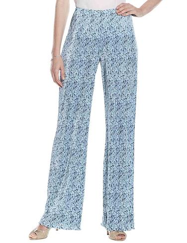 Floral Plisse Trouser