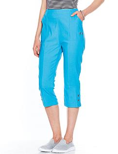 Ladies Stretch Crop Trouser