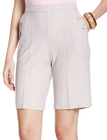 Linen Look Shorts