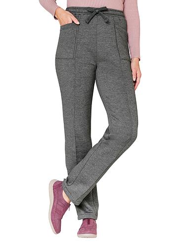 Womens Pin Stitch Leisure Trouser