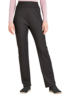 Thermal Lined Pull On Jersey Trouser