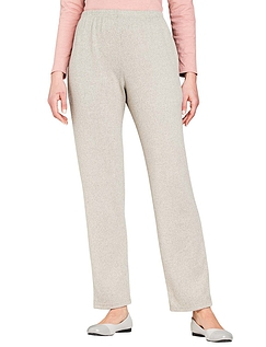 Knitted Jersey Marl Jog Pant