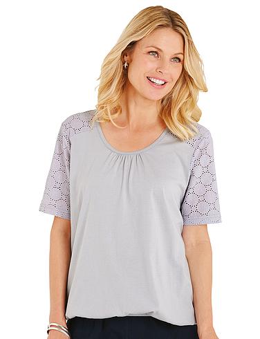 Elasticated Hem T - Shirt