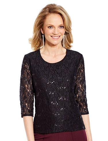 Luxury Lace Top