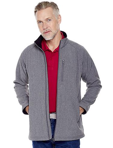 Pegasus Water Resistant Bonded Fleece Zip Jacket