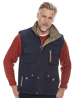 Aldon Micromoss Padded Fleece Lined Gilet