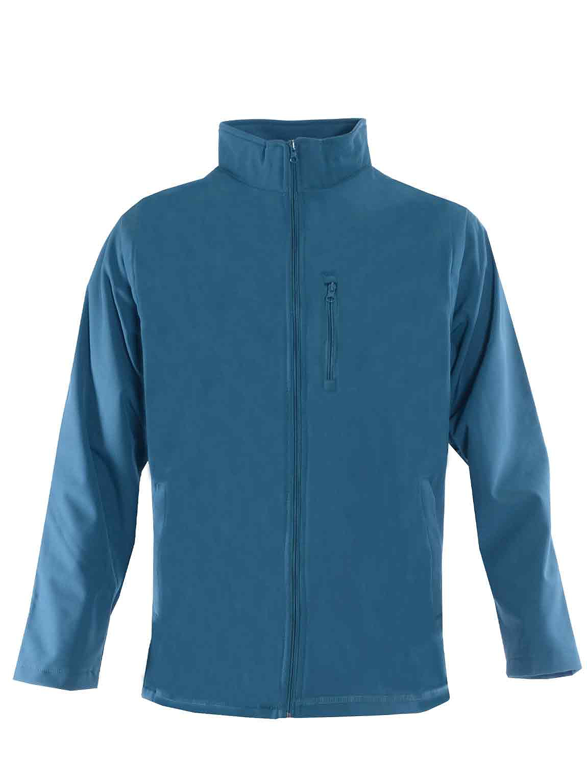 Bar Harbour Showerproof Fleece Lined Soft Shell Jacket - Blue