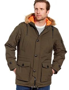 Mens Parka Coat