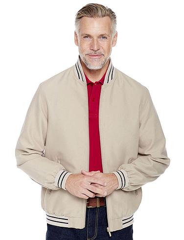 Classic Tipped College Jacket