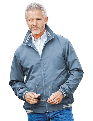 Pegasus Tipped Zipper jacket