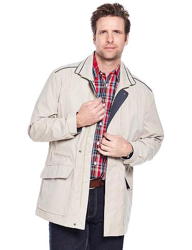 Aldon 3/4 Length Micromoss Carcoat