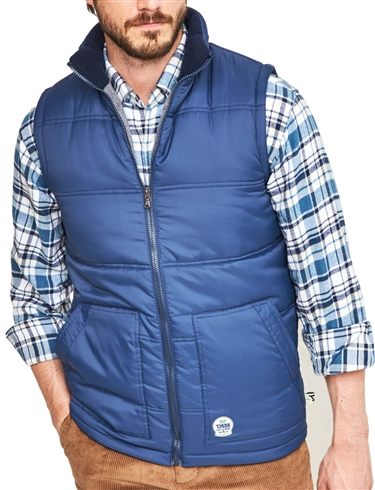 LINED PADDED GILET