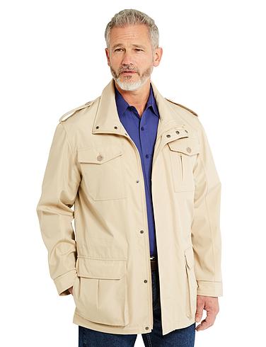 4 Pocket Coat With Epaulettes