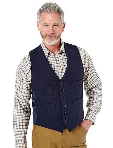 Cotton Moleskin Waistcoat