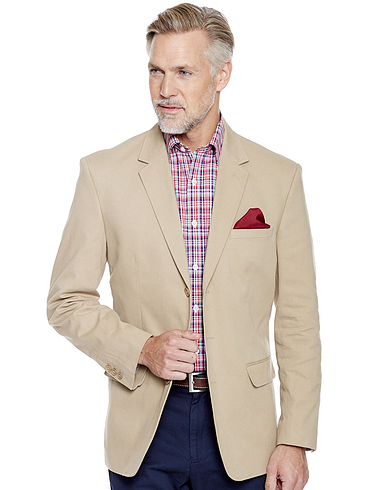 Pegasus Shorter Fitting Cotton Blazer