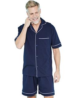 Pegasus Jersey Short Pyjama Set