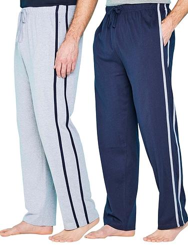 Pegasus Pack of 2 Jersey Lounge Pants