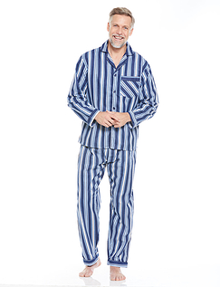 Brushed Cotton Stripe Pyjamas