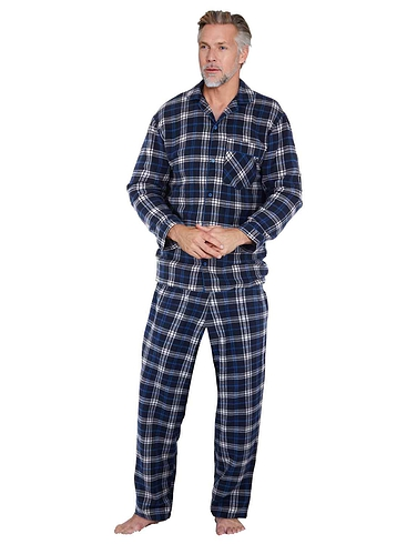 Tootal Brushed Cotton Yarn Dye Check Pyjamas