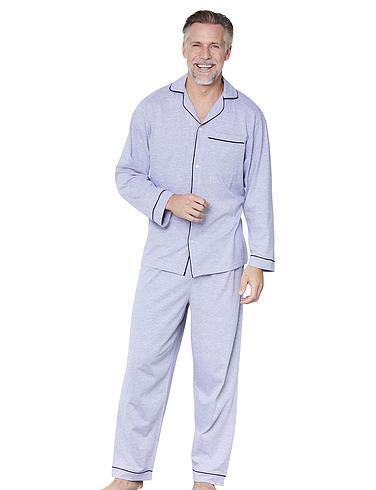 Pegasus Mens Jersey Pyjamas