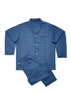 Rael Brook Traditional Brushed Check Pyjamas
