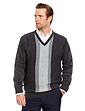 Tootal Jacquard V Neck Sweater
