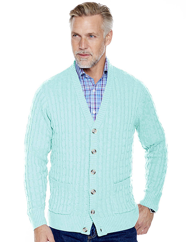 Pegasus Cotton Cable Cardigan